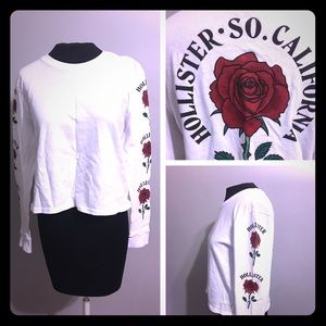 Roses Hollister Graphic TEE